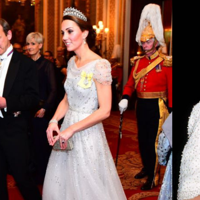 Kate Middleton Wore Princess Diana's Go-To Tiara At The Royal Holiday Party