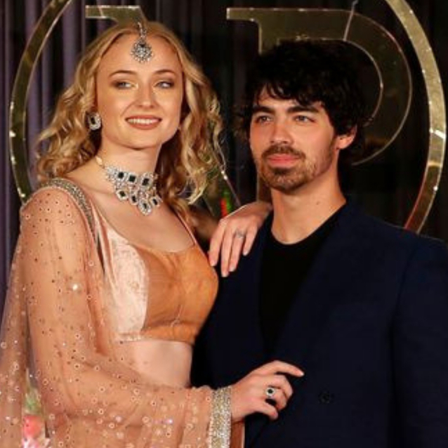 All Of Sophie Turner's Looks From Priyanka And Nick's Wedding Celebrations