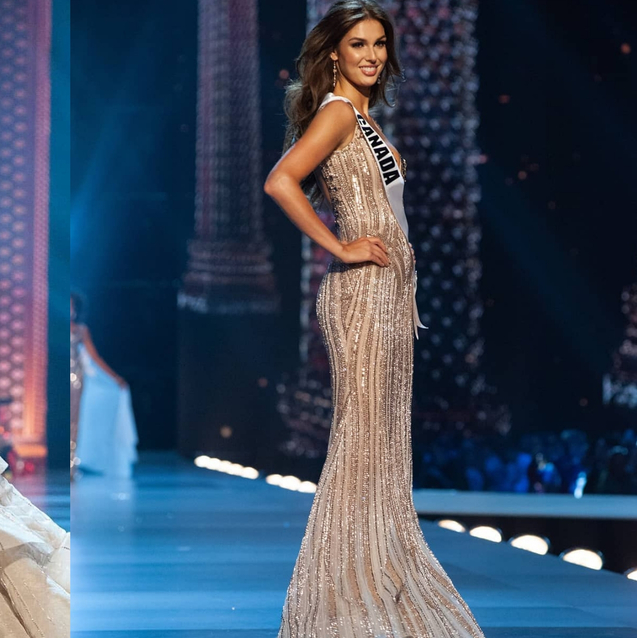 This Model Just Wore A Dubai-Based Designer At The Miss Universe Pageant