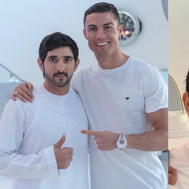 Stop Everything: Sheikh Hamdan And Cristiano Ronaldo Just Hung Out In Dubai