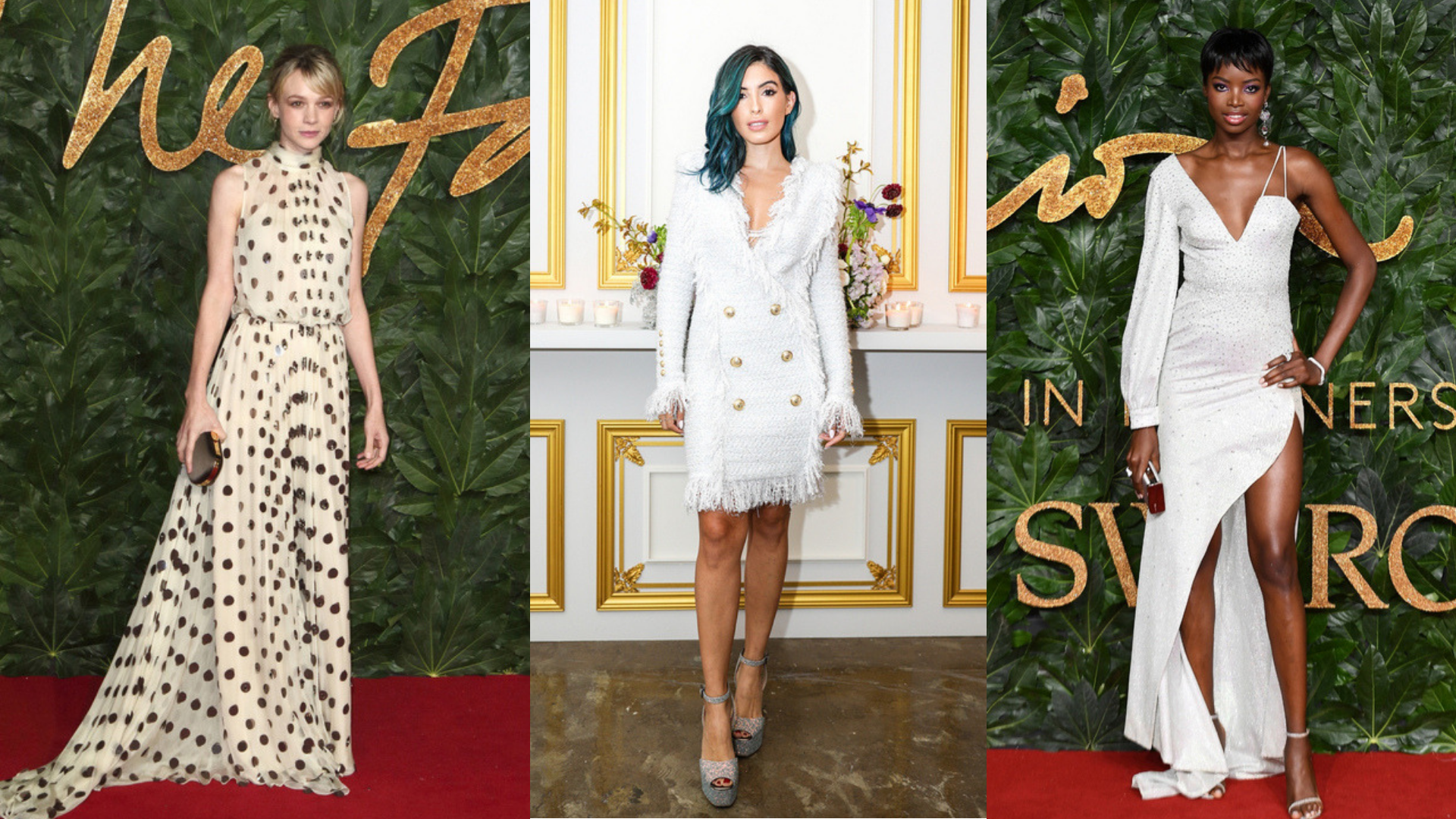 New Year, Clean Start: How To Style White Evening Wear