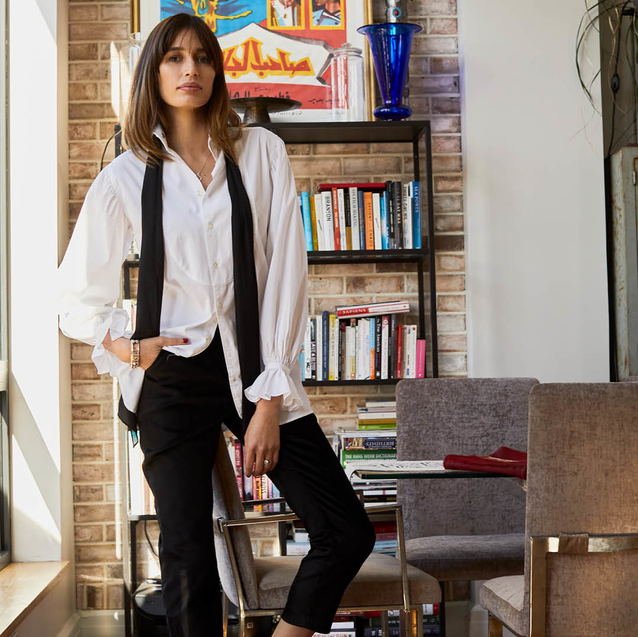 The Sustainable Model: Inside Kenza Fourati's Middle Eastern-Inspired Brooklyn Home