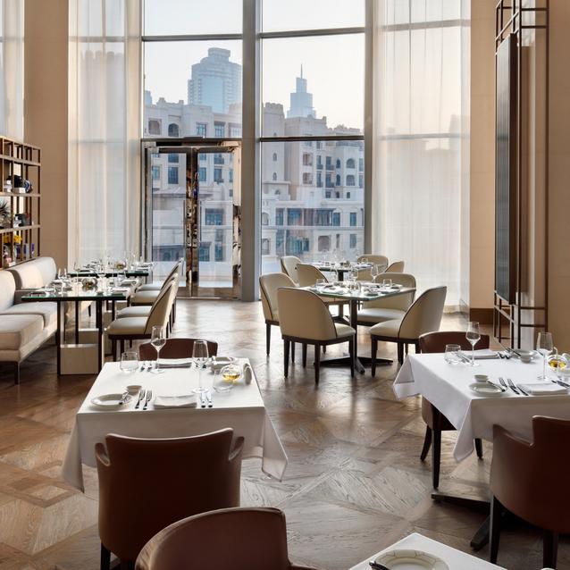 #ChicEats   The Restaurant, Address Downtown