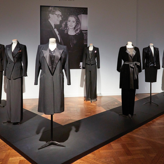 Iconic French Actress Catherine Deneuve's YSL Collection Will Auction At Christie's Paris