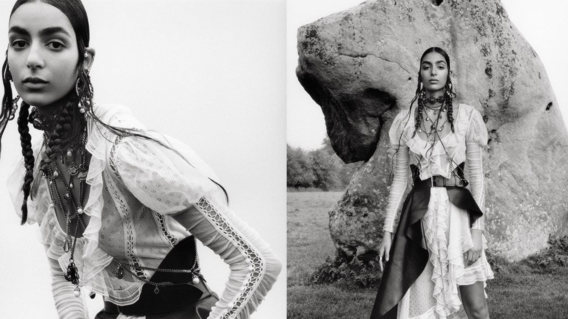 British-Moroccan Model Nora Attal Was Just Featured In An Alexander McQueen Campaign
