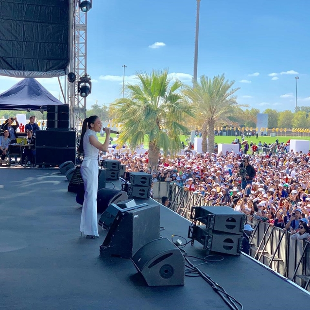 This Filipino Pop Star Wore A Dubai-Based Label To Perform For The Pope's Visit