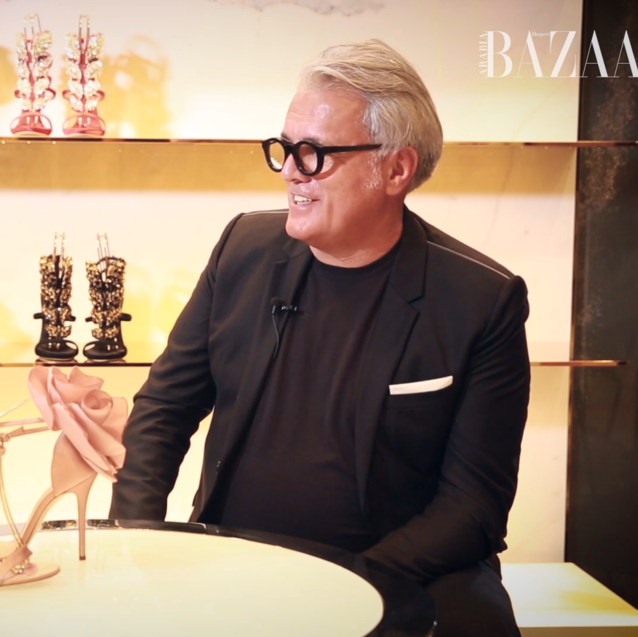 Watch | Famous Faces: Giuseppe Zanotti On Designing Shoes For Beyoncé And Crafting Heels Made Of Diamonds