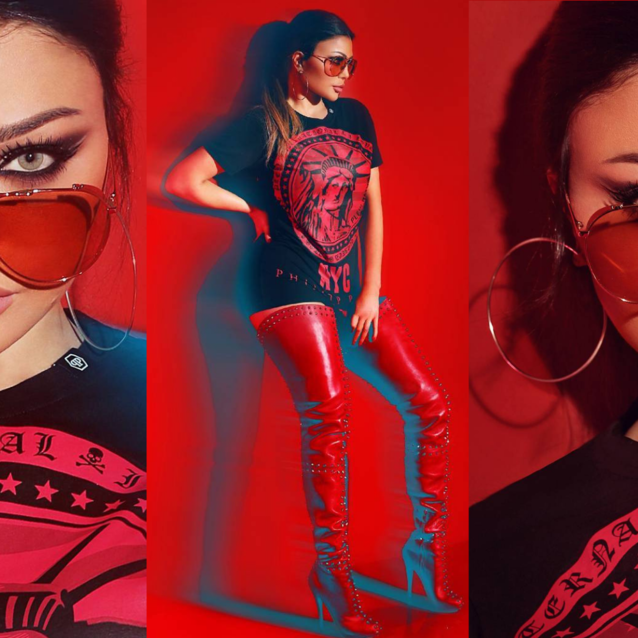 Lebanese Songstress Haifa Wehbe Just Launched A Streetwear Line