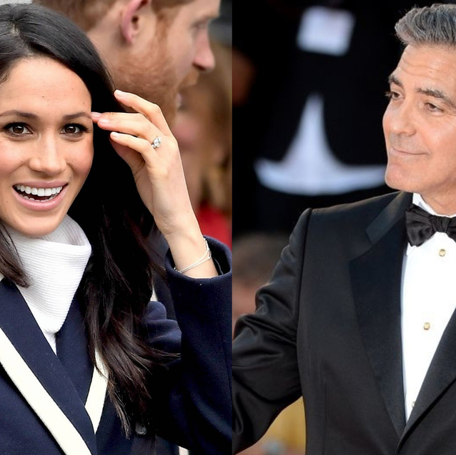 """George Clooney Said Meghan Markle Is Being """"Chased Like Diana"""" And It's """"History Repeating Itself"""""""