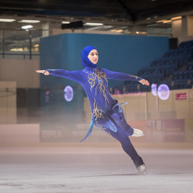 Emirati Figure Skater Zahra Lari Set To Represent The UAE Again In The Hopes Of Qualifying For Winter Olympics