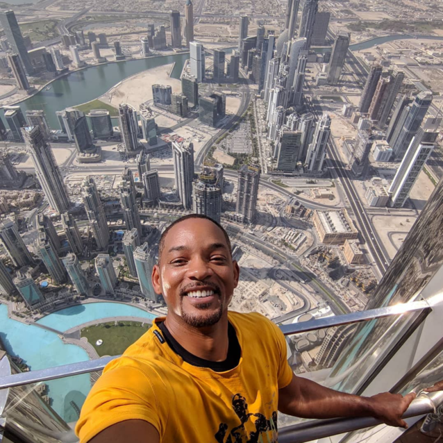 Will Smith's Video From The Top Of The Burj Khalifa Goes Completely Viral