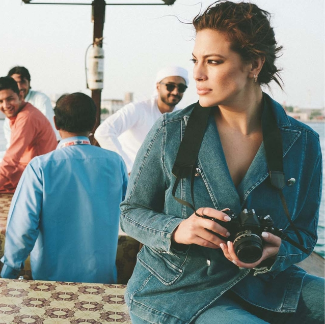Watch | Ashley Graham Takes To Old Dubai In Her Brand New Collaboration With Marina Rinaldi