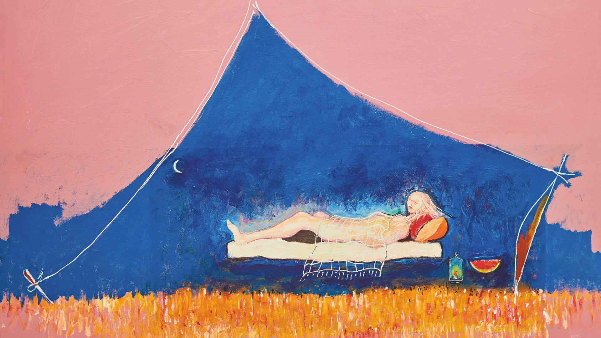 Architecture Of Being: Iraqi-British Artist Heitham Adjina Debuts First Solo Exhibition In Dubai