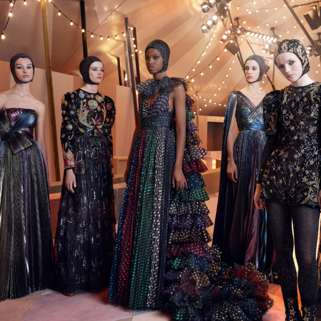 Dior Brought The Circus And 15 Exclusive Designs To Dubai