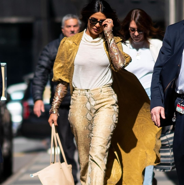 Priyanka Chopra Just Wore Two Of Springs Biggest Trends – And One Of Them Was From A UAE Designer