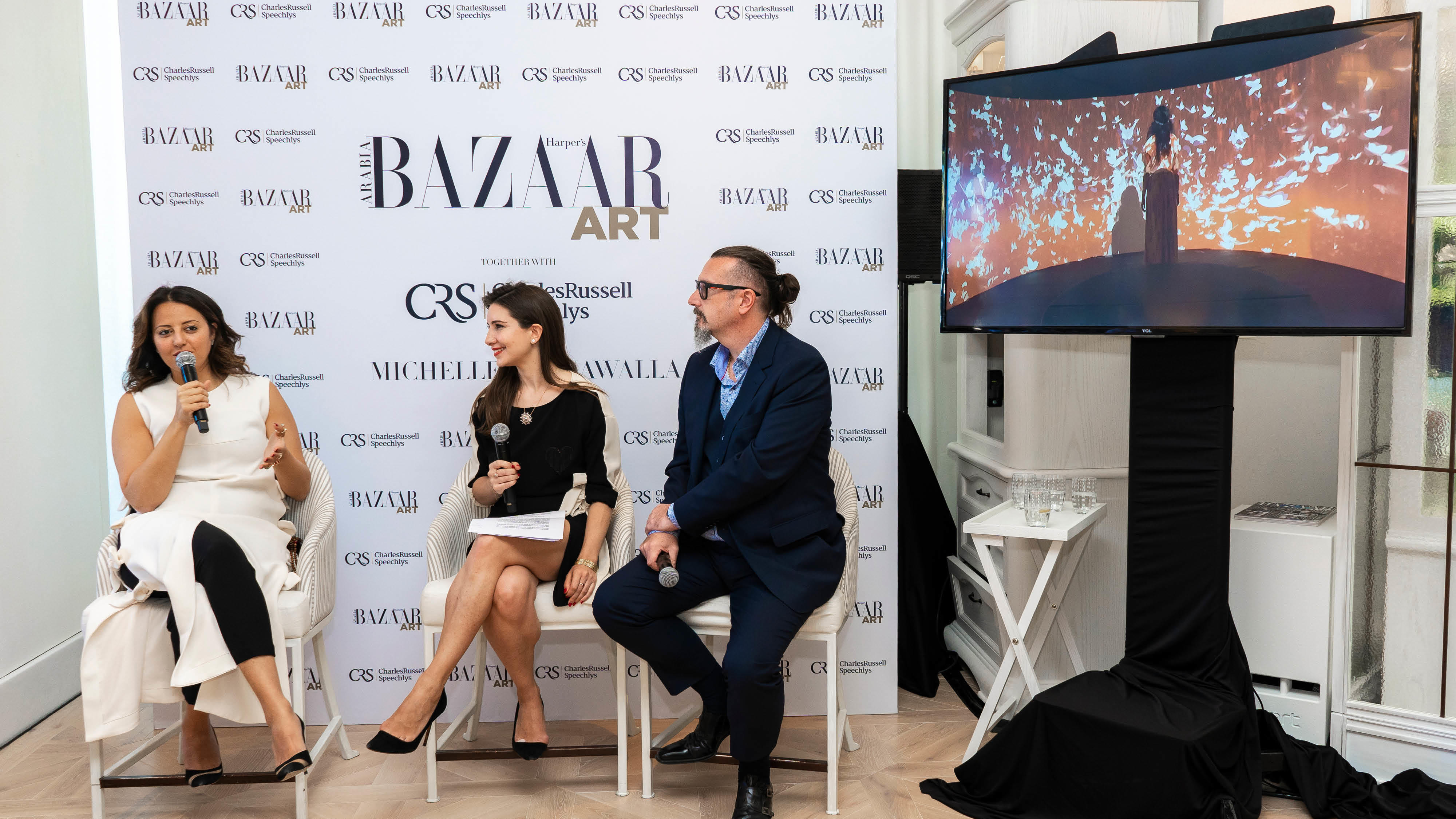 Pictures: Harper's Bazaar Art Celebrates Dubai Art Season With An Intimate Lunch