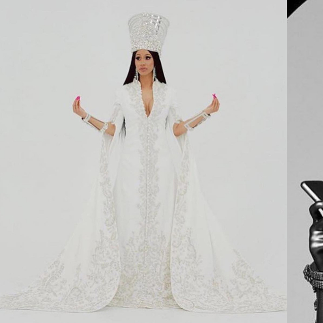 A Statue Of Cardi B Wearing An Arab Designer Just Went Up In Brooklyn