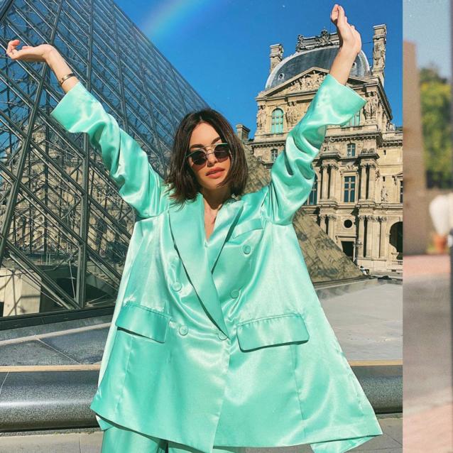 Karen Wazen's Spring Wardrobe Is Giving Us Major Street Style Inspo