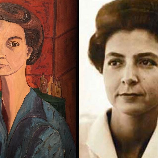 Google Doodle Celebrates Egyptian Painter Inji Aflatoun's 95th Birthday
