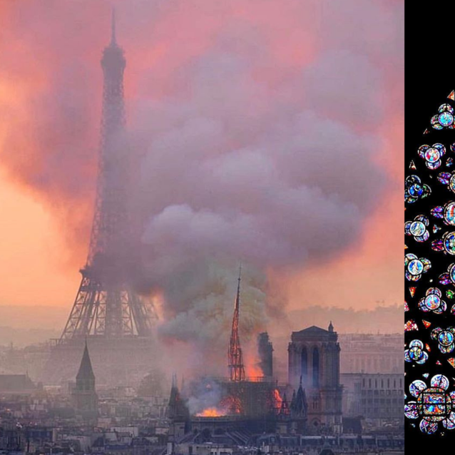 Celebrities Around The World Pay Tribute To The Notre Dame Cathedral