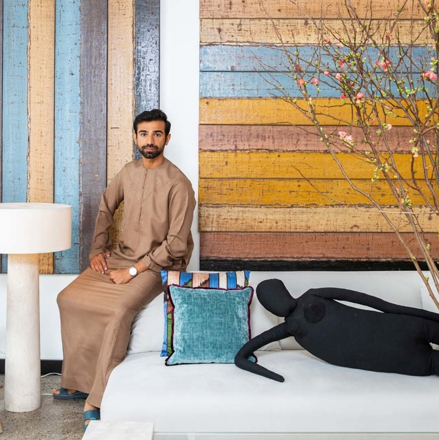 EXCLUSIVE: Emirati Filmmaker Abdulla Al Kaabi Takes Bazaar Inside his Jumeirah Home
