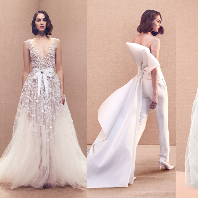 Oscar De La Renta's Spring/Summer 2020 Bridal Collection Is As Dreamy As You'd Imagine