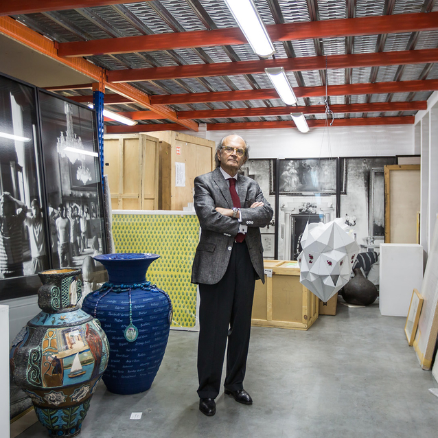 An Exclusive Step Inside Farhad Baktiar's Collection of Iranian and African Masterpieces
