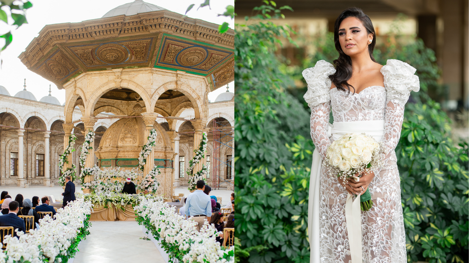 This Regional Designer Glammed Up Cairo's Latest High-Profile Wedding