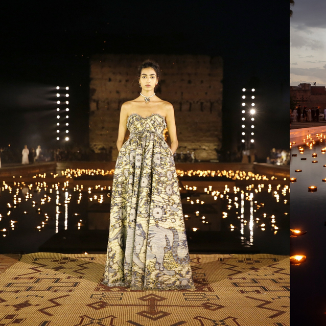 Dior Presents Their 2020 Cruise Collection In Marrakech