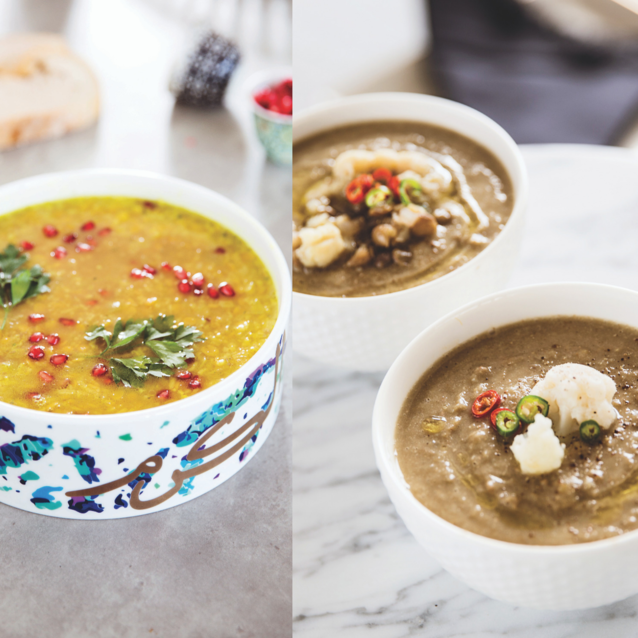 Three Ways To Break Your Fast With  Healthy Lentil  Soup Recipes | #DaliasKitchen