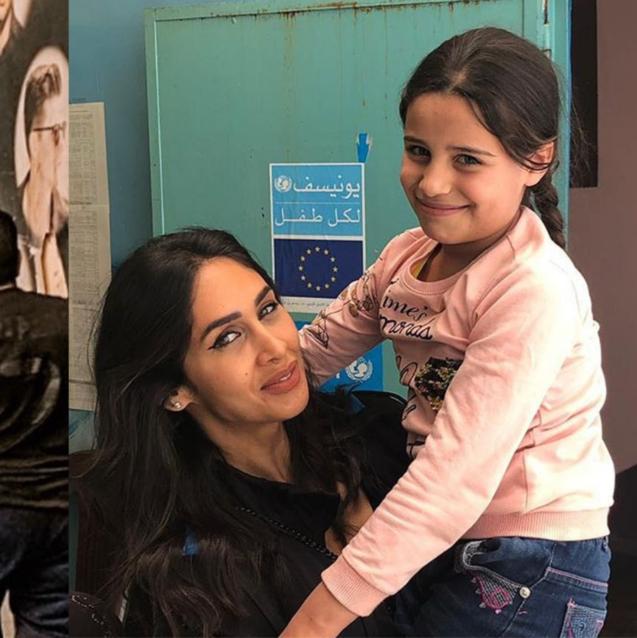 BAZAAR Goes Inside Enjy Kiwan's Visit to a Refugee Camp in Lebanon