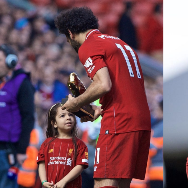 Mo Salah Watching His Daughter Score A Goal Is The Cutest Thing We've Ever Seen