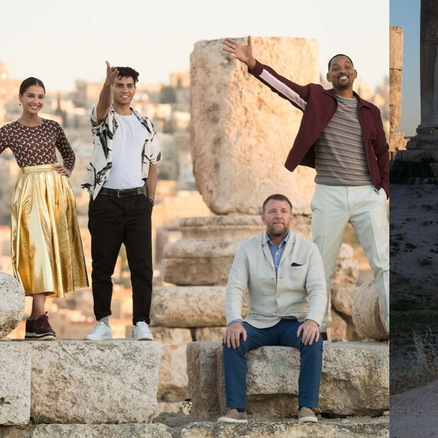 The Cast Of Disney's Aladdin Touch Down In Jordan