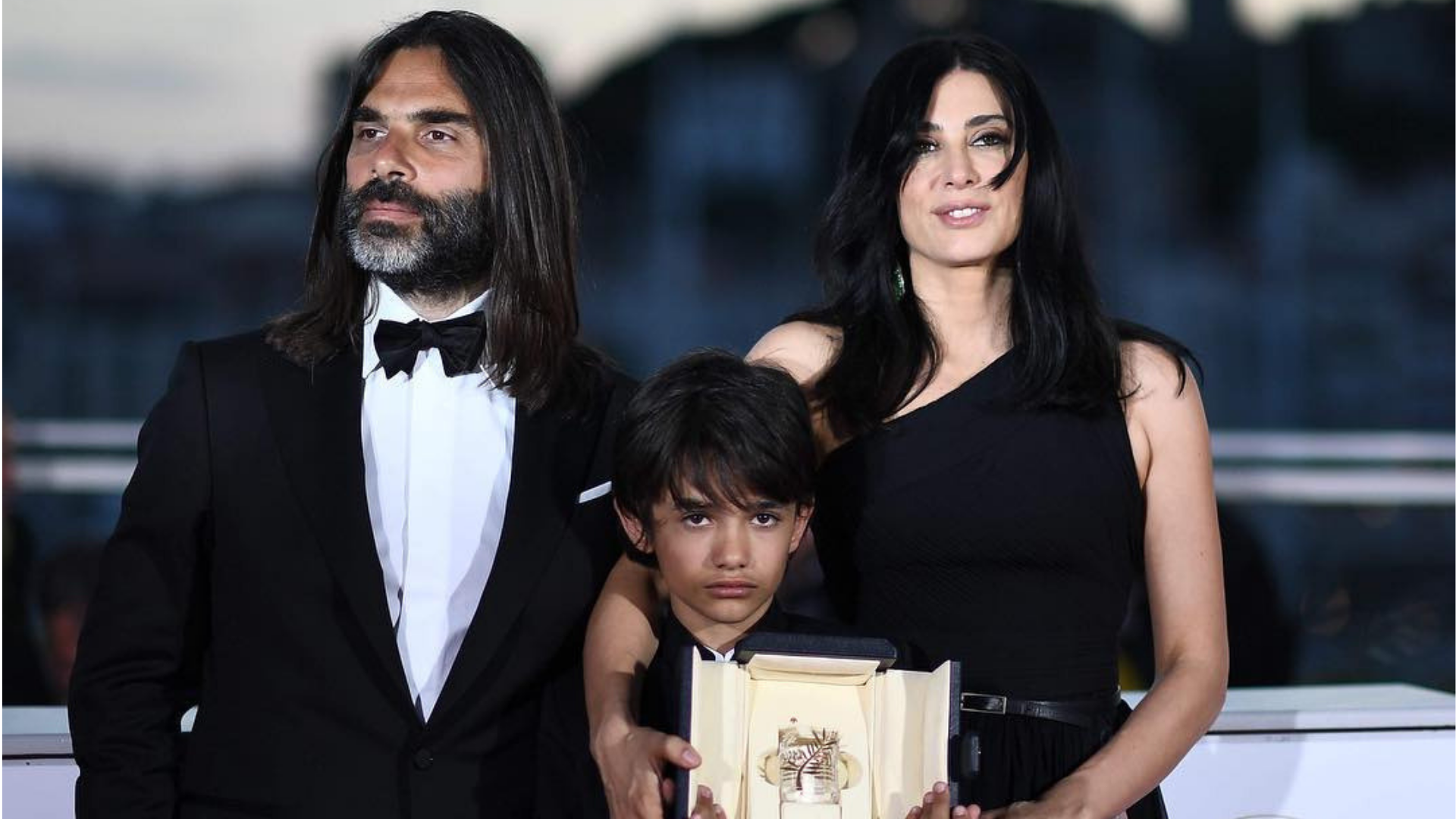 Nadine Labaki Stuns In Dior On Cannes Film Festival's First Night