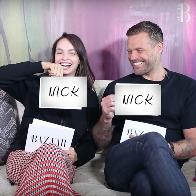 Watch | Bazaar Puts Luma Grothe And Nick Youngquest's Relationship To The Test