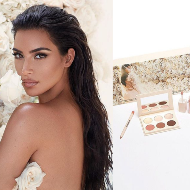 Kim Kardashian West Launches New Bridal Make-up Collection