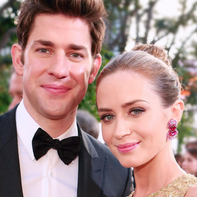 John Krasinski Joked That He's Only With Emily Blunt Because Anne Hathaway Was Taken