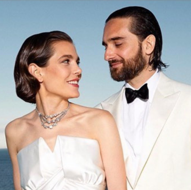 Everything You Missed At Charlotte Casiraghi's Royal Wedding