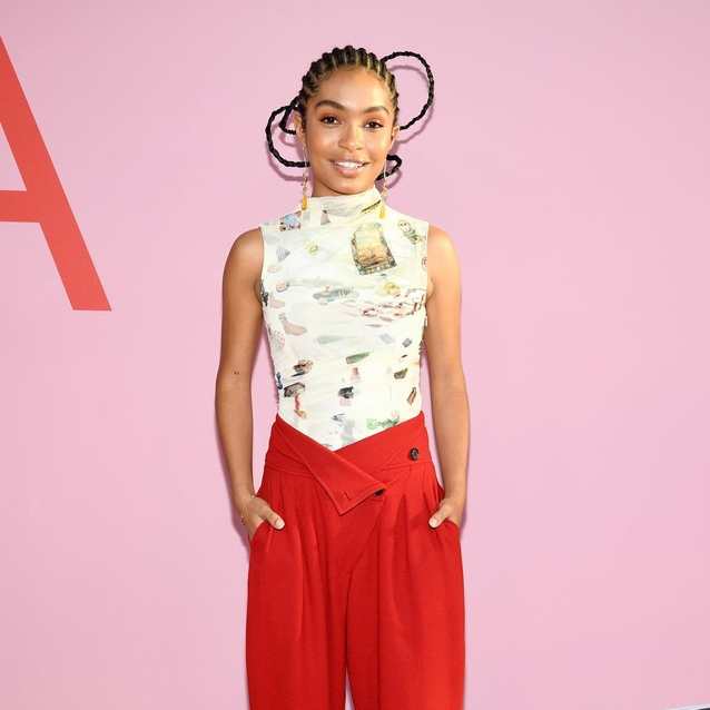 Former BAZAAR Cover Star Yara Shahidi Stuns On Her First Ever CFDA Awards Red Carpet