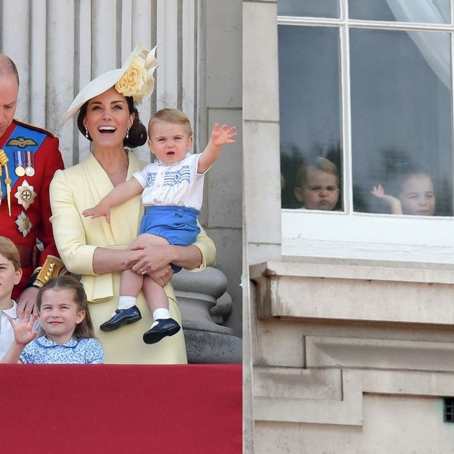 Prince Louis Makes His Buckingham Palace Balcony Debut