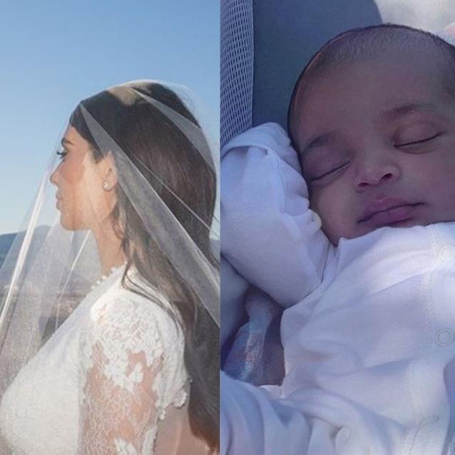 Psalm West Is The Chillest Baby In Kim Kardashian's New Instagram Photo