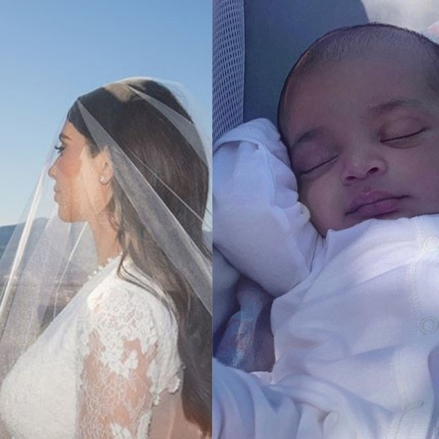 Psalm West Is The Chillest Baby In Kim Kardashian's New Instagram Photo
