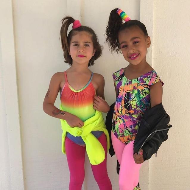 The Kardashians Throw North And Penelope A Candy Land-Themed Birthday Party