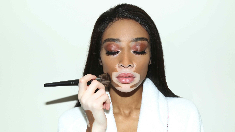 Kim Kardashian's KKW Beauty Is Teaming Up With Winnie Harlow