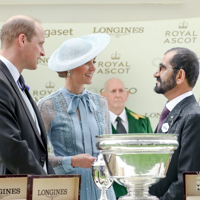 Sheikh Mohammed Celebrates At Royal Ascot As UAE Horse Makes History