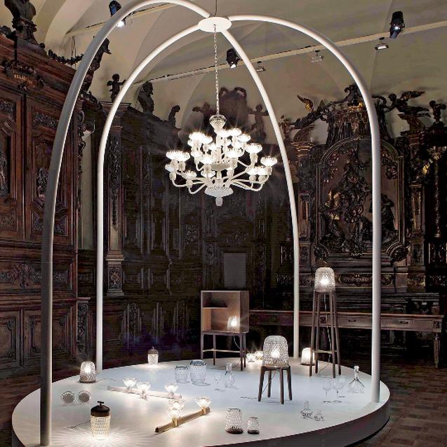 Saint Louis' Latest Folia Collection Unveiled In Milan's Church Of Santa Maria Del Carmine