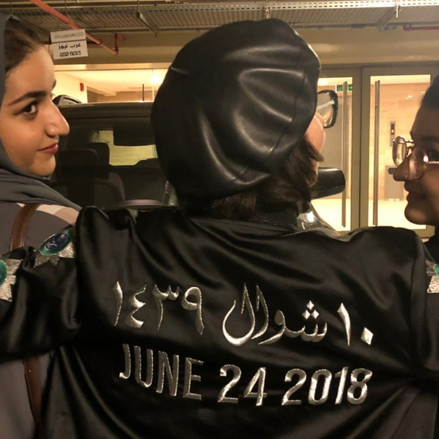12 Empowering Social Media Posts of Saudi Women Celebrating The Lift Of The Female Driving Ban