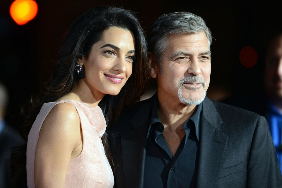 Amal And George Clooney Hosted The Obamas At Their Lake Como Villa