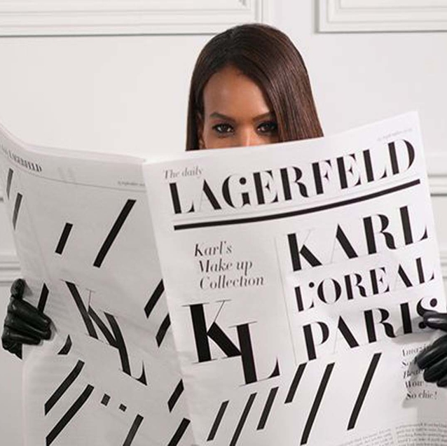 L'Orèal Paris And Karl Lagerfeld Launch A Make-Up Line