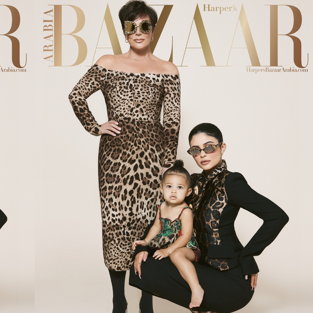 WORLD EXCLUSIVE: Kris, Kylie And Stormi Photographed For The First Time Together